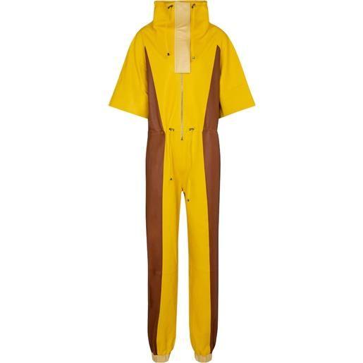 Dodo Bar Or jumpsuit in pelle