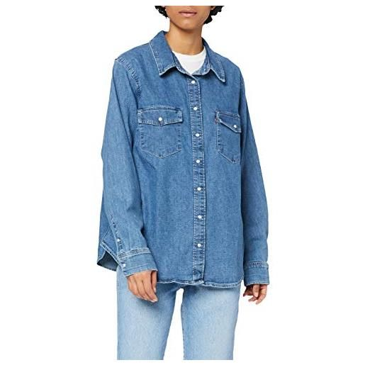 Levi's Plus Size pl essential western camicia, going steady (4), 2 x donna