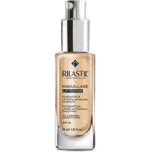 Rilastil Make up rilastil make-up linea maquillage liftrepair fondotinta lift antirughe colore 40