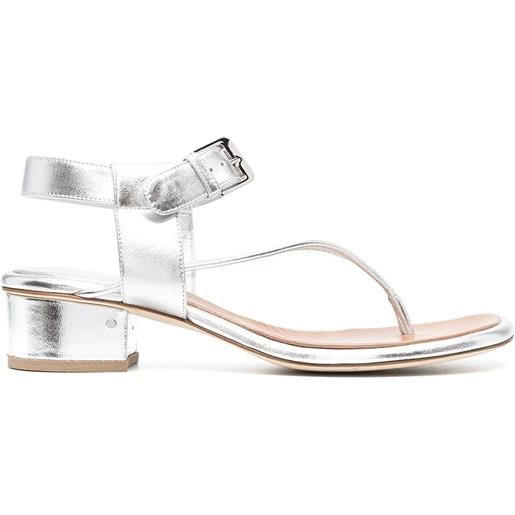 Laurence Dacade sandali bosphore - argento