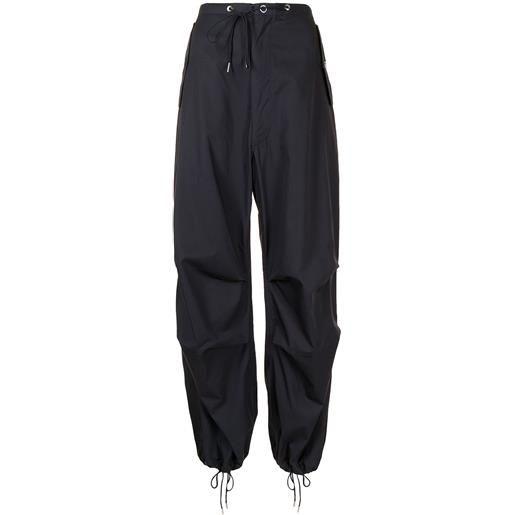 Dion Lee pantaloni dritti - blu