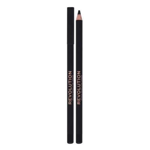 Makeup Revolution London kohl eyeliner matita per occhi con una pigmentazione alta 1,3 g tonalità black