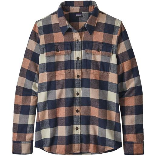 Patagonia w's long-sleeved fjord flanel shier camicia donna