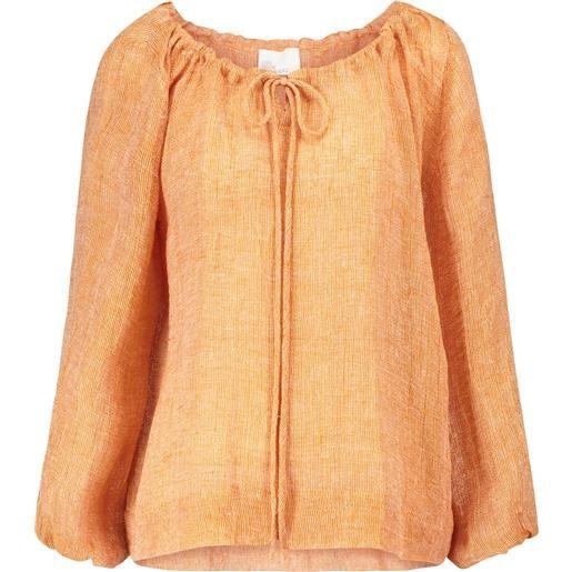 Lisa Marie Fernandez blusa in lino