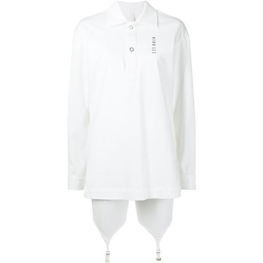 Dion Lee camicia con stampa - ivory