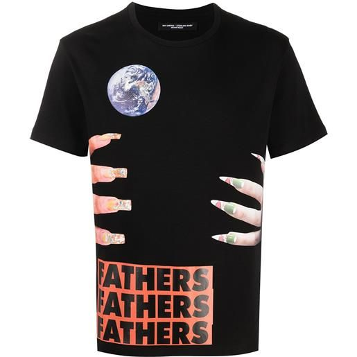 Raf Simons t-shirt Raf Simonsx sterling ruby fathers - nero