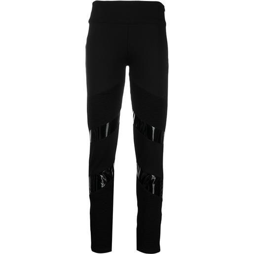 Philipp Plein leggings iconic - nero