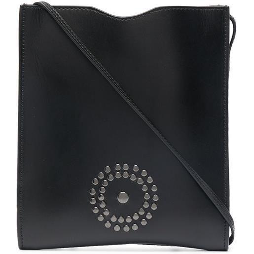 10 CORSO COMO borsa a spalla con logo - nero