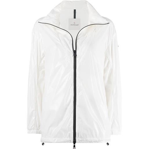 Moncler giacca a vento melucta - bianco