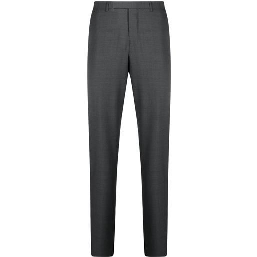 Ermenegildo Zegna pantaloni dritti sartoriali - grey