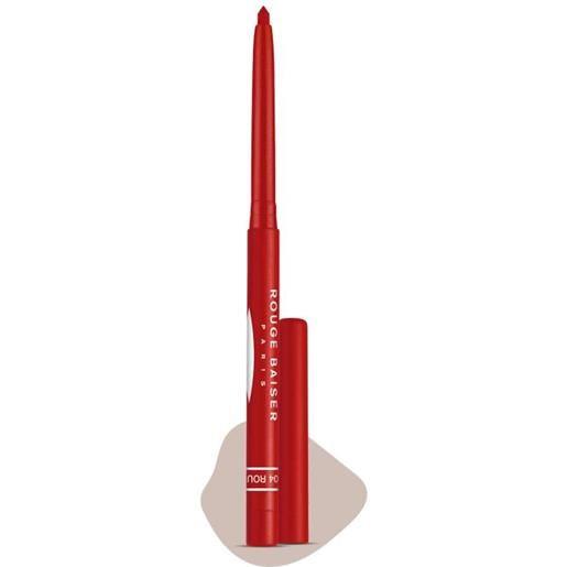 Rouge baiser stylo contour des lèvres, 04 - rouge capucine