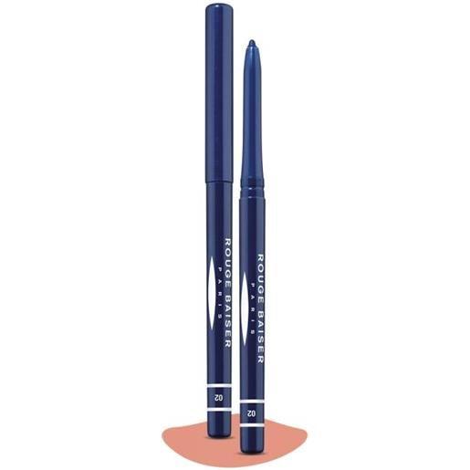 Rouge baiser stylo contour des yeux, 02 - bleu navy