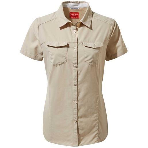 Craghoppers camicia manica corta nosilife adventure 12 desert sand