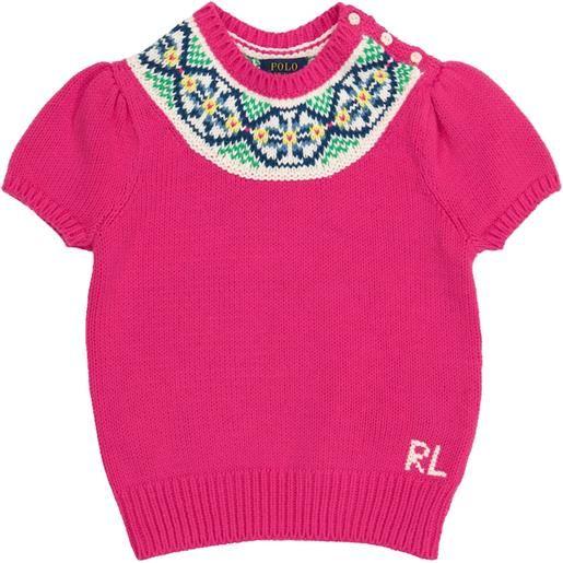 Polo Ralph Lauren Kids pullover in cotone
