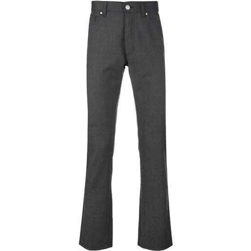Ermenegildo Zegna pantaloni sartoriali slim - grigio