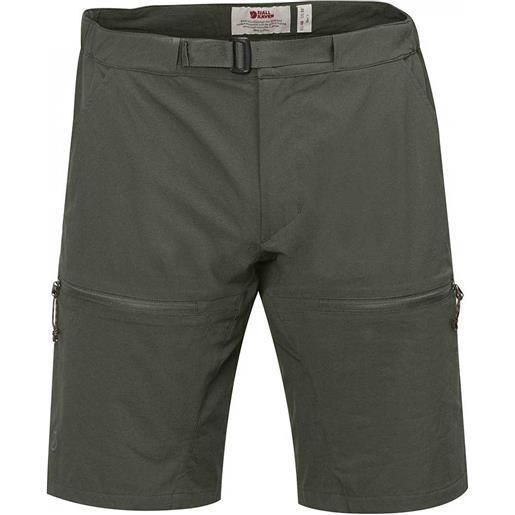 Fjällräven pantaloncini high coast hike pantaloncini 46 mountain grey