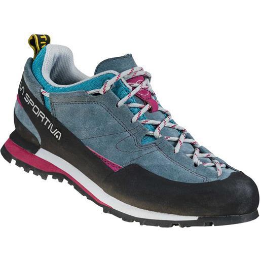 La Sportiva scarpe trekking boulder x eu 37 1/2 slate / red plum