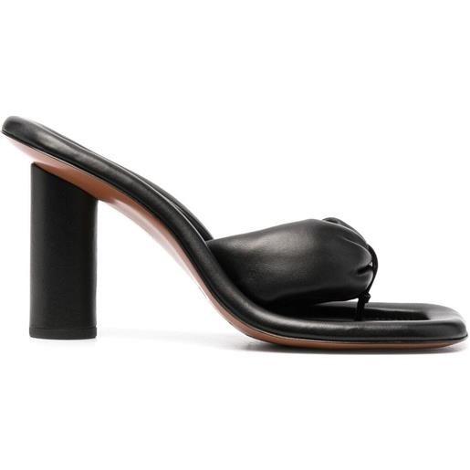 AMBUSH sandali senza lacci - nero