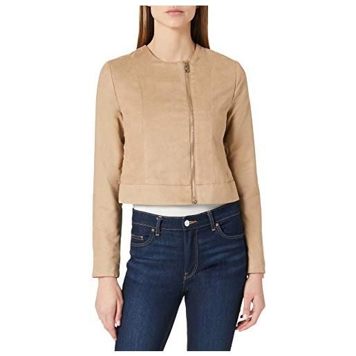 LTB Jeans motito giacca in ecopelle, beige 701, m donna