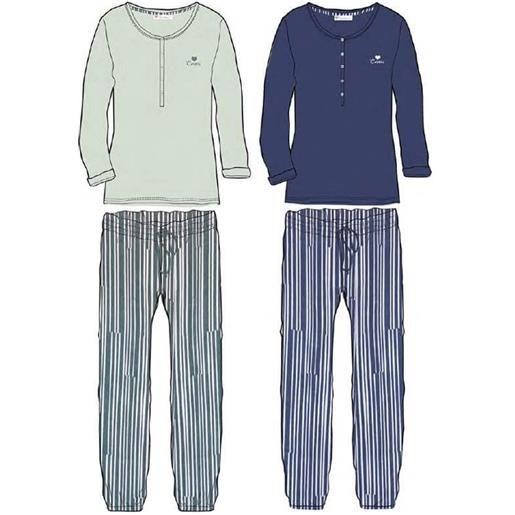 Coveri Homewear pigiama da donna primaverile fresco cotone 4053 coveri homewear