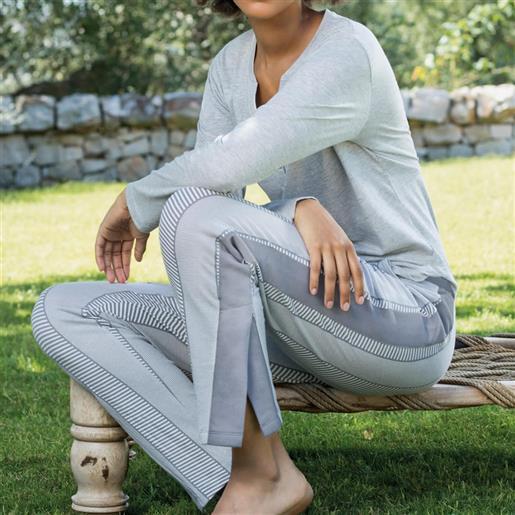 Jadea pigiama da donna manica lunga 3112 spritz jadea