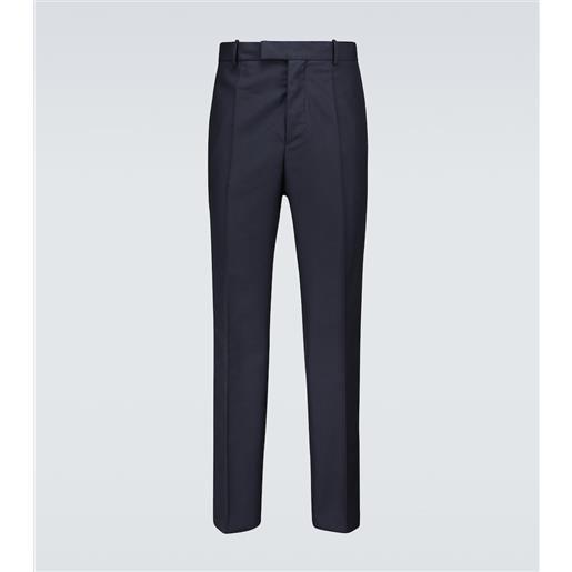 OAMC pantaloni bleach in lana vergine