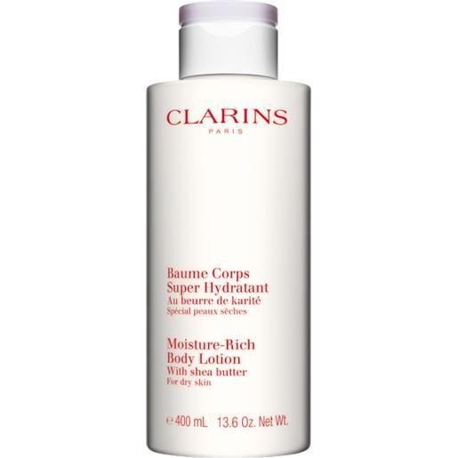 Clarins baume corps super hydratant rich - pelle secca 200 ml