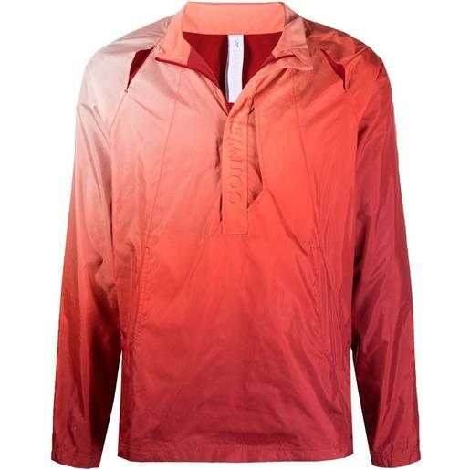 Reebok giacca con zip reebok x cottweiler - rosso