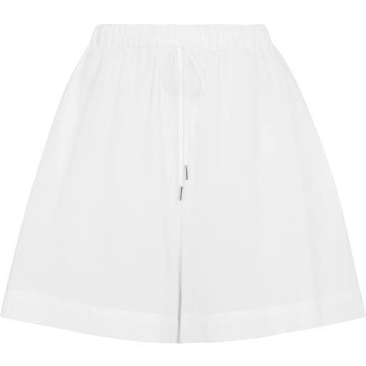 Max Mara shorts fiamma in misto cotone