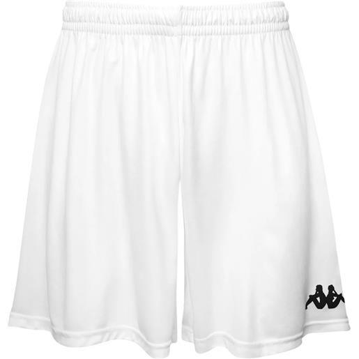 Kappa 4soccer wusis short white pantaloncino adulto