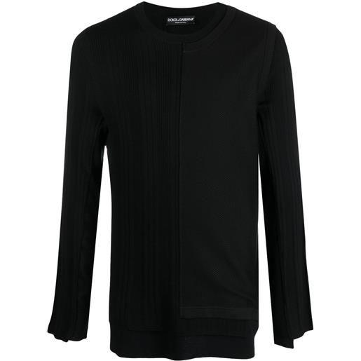 Dolce & Gabbana maglione a girocollo - nero