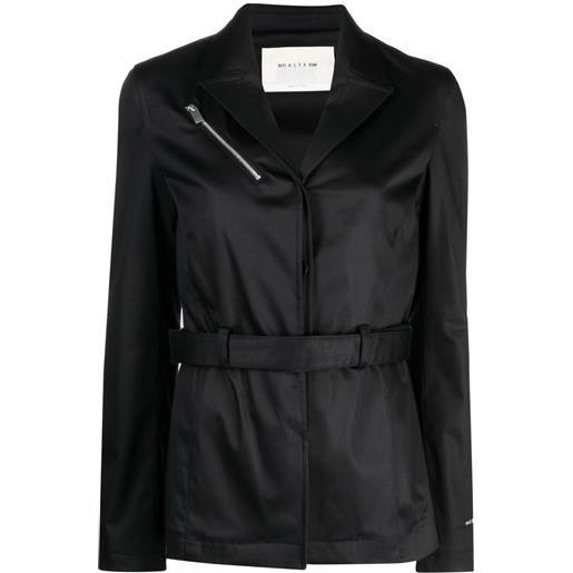 1017 ALYX 9SM blazer monopetto con cintura - nero