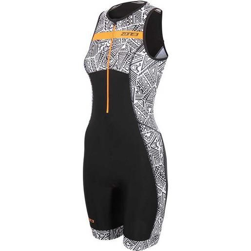Zone3 body triathlon senza maniche activate+ kona speed xs black / white / orange