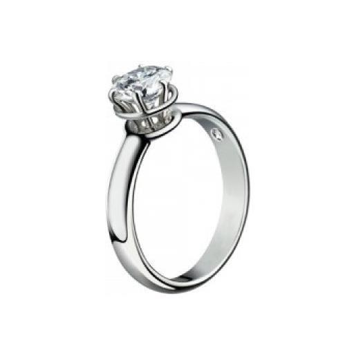 Damiani anello solitario minou con diamante ct 1,01 colore g vs