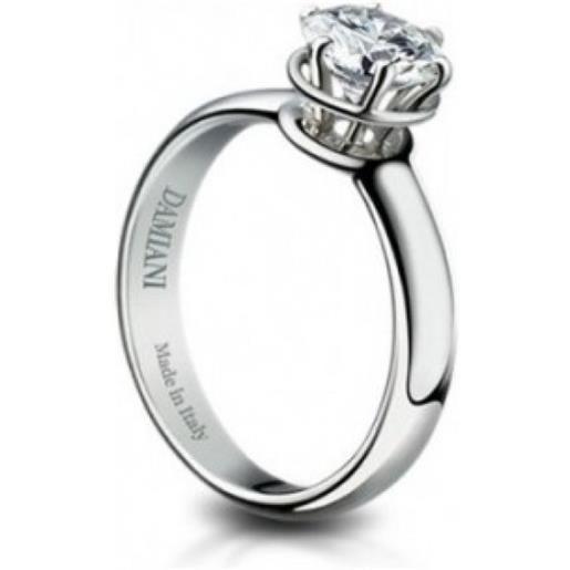 Damiani anello solitario minou diamante ct 1,20 colore g vs2 gia