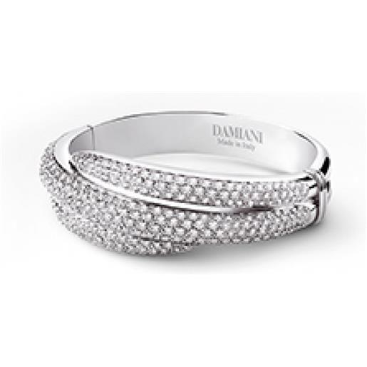 Damiani bracciale in oro bianco e diamanti