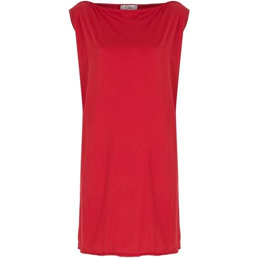 Amir Slama abito smanicato - rosso