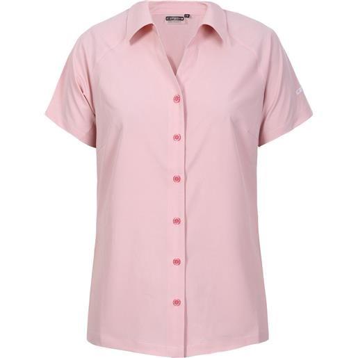 Icepeak bandera w shirt camicia smanicata outdoor donna