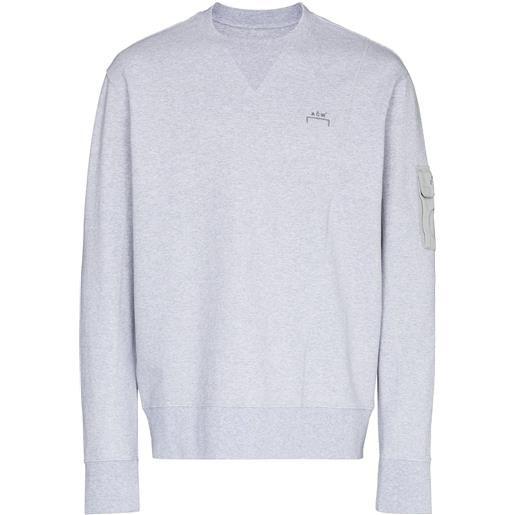 A-COLD-WALL* felpa essential - grigio