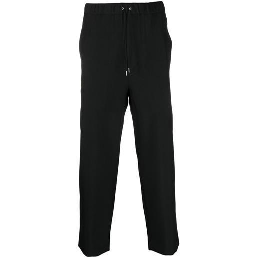 OAMC pantaloni con coulisse - nero