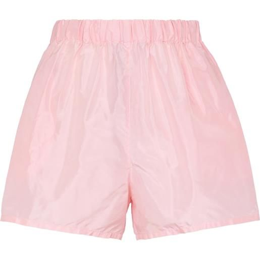 Prada shorts in taffetã di seta