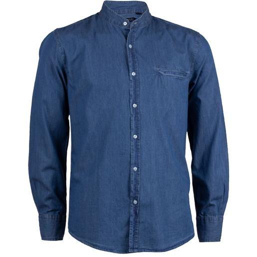 Coveri Collection camicia jeans coreana uomo