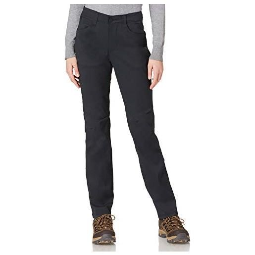 All Terrain Gear by Wrangler slim utility pant pantaloni da trekking, nero, 31w x 32l donna