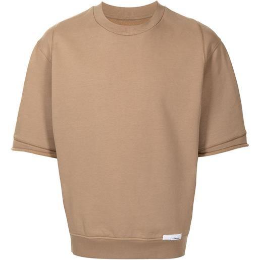 3.1 Phillip Lim t-shirt con applicazione - toni neutri