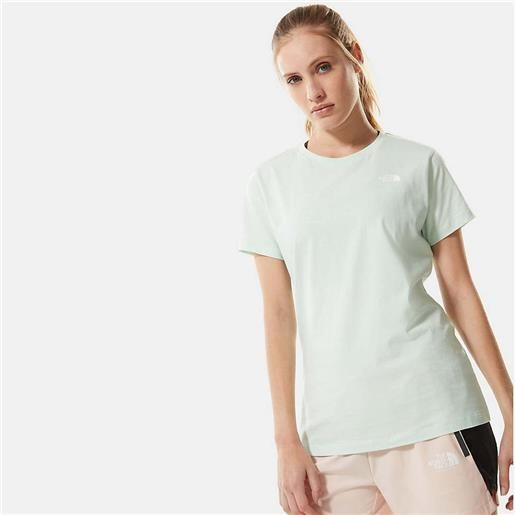 The North Face simple dome t-shirt / verde