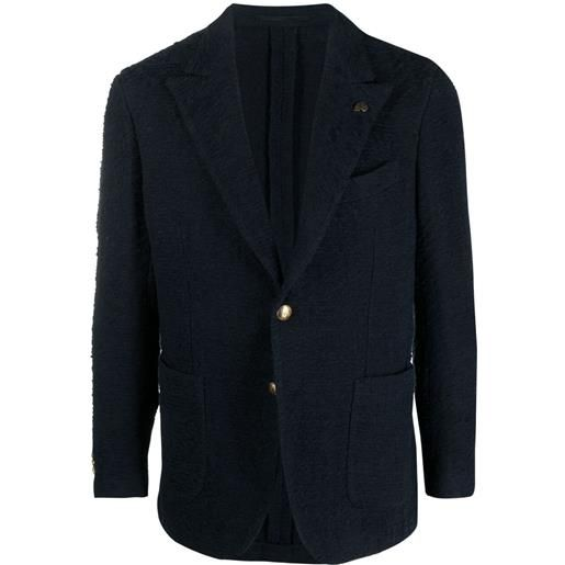 Gabriele Pasini blazer monopetto - blu