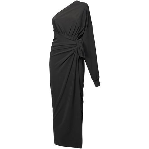 BALENCIAGA vestito monospalla in jersey di viscosa