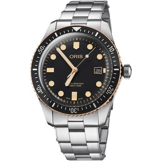 Oris orologio oris uomo diver sixty-five 01 733 7720 4354-07 8 21 18