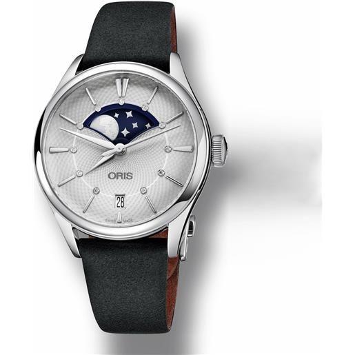 Oris orologio oris donna artelier grande lune date 01 763 7723 4051-07 5 18 34fc