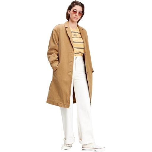 Levi's luna coat w/ fill garment dye cappotto donna